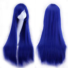 """31"""" 80cm Women's Girl Full Hair Long Straight Synthetic Wig Cosplay Party Wig"""