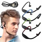 Fashion Bluetooth Stereo Wireless Mic Gym Sport Headset Earphone For Android IOS