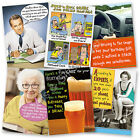 Humorous Male Female Animal Happy Birthday Humour Greeting Card
