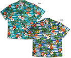 Hibiscus Outrigger Island Men's RJC vintage aloha Shirt made in Hawaii 102C-113