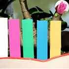 Chic 100 Pack Coloured Plastic Plant Labels Markers Garden Stick In Plant