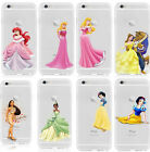 For iPhone 6s 7 Plus Kid's Gift Princess Tangled Hard Protector Film Case Cover