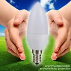E14 5730 3W Chandelier Candle Light LED Bulb Lamp Cool/Warm White AC 220V S0BZ