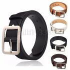 Fashion Men's Waistband Business Casual Waist Strap Metal Buckle Leather Belts