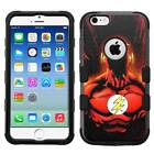 Flash Hard+Rubber Hybrid Armor Case for iPhone SE/6/6S/7/Plus, Galaxy S7/S8/Plus