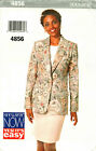 Jacket Skirt 6 8 10 12 14 16 18 20 22 Butterick Sewing Pattern Petite Uncut 4856