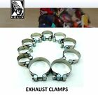 Helix Racing Products Stainless Exhaust Muffler Clamps  Triumph Motorcycle $14.63 USD on eBay