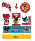 BING - Birthday Party Range - Tableware Balloons & Decorations