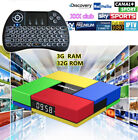 T95K Pro Octa Core 32GB/3GB Android 6.0 Wifi Bluetooth TV Box+Backlit Keyboard