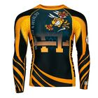 RASH GUARD EXTREME HOBBY LONG SLEEVE WASP FOR TRAINING MMA, FIGHT,GYM