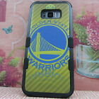 Golden State Warriors Rugged Impact Armor Case for Samsung Galaxy S8 & S8 Plus Y