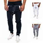 New Fashion Sports Pants Men's Gym Tracksuit Bottoms Fitness Casual Sweatpants