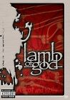 Lamb of God - Terror and Hubris (DVD, 2004, Explicit) WORLD SHIP AVAIL