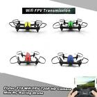 Flytec T18 Wifi FPV 720P Wide Angle HD Camera RC Racing Quadcopter toys L5O4
