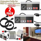 2 Packs Game Controller Gamepad For Nintendo NES Mini Classic Edition Console US