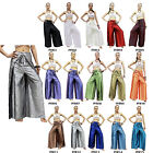 Pants PFR Thai Silk Palazzo Drive In Wrap Wide Leg Fisherman Sarong Harem Women