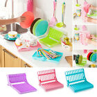 Foldable Storage Insert Dish 4 Colors Rack Home Holder Drying Kitchen Drainer c
