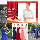 Lady Long Formal Prom Lace Dress Evening Ball Gown Bridesmaid Party Dress 08038