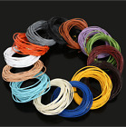 5 m 1.5/2.0 mm Round Real Leather Jewelry Cord String Beading Cords Diy Hot Sell