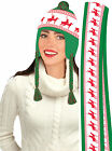 Reindeer Games X-Rated Hat & Scarf Set Reindeer Set Christmas Party Set 72354