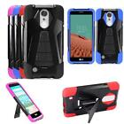 Phone Case For LG Risio 2 4G LTE DLGN5008 Rugged Cover Wide Stand