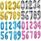 "32"" 40"" Giant Foil Helium Balloons Number 0-9 Wedding Inflatable Balloon Sticker"