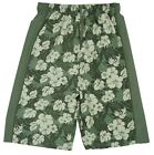 Boys Hawaiian Floral Mesh Insert Swim Beach Surf Board Shorts 3 to 10 Years