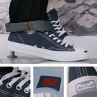 Converse Jack Purcell Retro Trainer Navy Blue Canvas