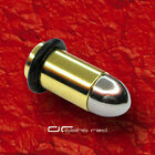»»» 2x STAHL BULLET for THE PEACE! Patrone Ohrpiercing PLUG 2,5-8mm 2449