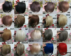 "Lot New AAA+ 8"" Fashion Bang Human Hair Clips in Extensions Front Fringe 20g/pcs"