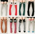 red and white toddler tights -  Girls Knee High Socks Kids Toddlers Tights Leg Warmer Stockings Animal figure