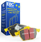 EBC YELLOWSTUFF BRAKE PADS FRONT DP41462R FOR DAIMLER SUPER V8 4.2 2005 - 2006