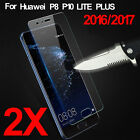 2X Premium Real 9H Tempered Glass Screen Protector Film Guard For Huawei Phones