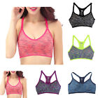 Women Fitness Yoga Push Up Sports Bra For Running Gym Padded