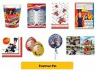 POSTMAN PAT - Birthday Party Range - Tableware Balloons & Decorations AMSCAN