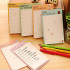 Unique Daily Planner Bookmark Marker Memo Sticky Notes Notepad Check List