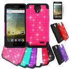 Phone Case For ZTE ZFive 2 / ZTE Z Five 2 4g LTE Dual-Layered Crystal Cover Film