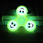 Fidget Hand Spinner Expression Glow in The Dark Desk Relieve Stress Toy Pretty