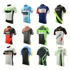 New mtb bike Bike Mens Cycling Jersey Short Sleeve Shirts Bicycle Clothing M-3XL