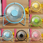 "4"" Portable Super Quiet PC Notebook Laptop Computer USB Cooling Desk Mini Fan"