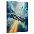 Star Trek Into The Clouds Canvas Wall Art with Back Board