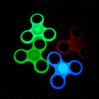 Fluorescence Glowing Hand Spinner Tri Fidget Finger Fingertip Gyro EDC Focus Toy