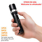 Flashlight Zoomable Focus LED SCF Flashlight Torch for Out Door&Home )