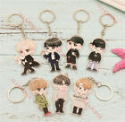 KPOP GOT7 Keychain Never Ever Jackson Mark Bambam JB JR Cartoon Acrylic Key Ring