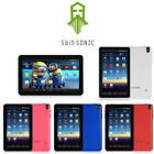 """9"""" SainSonic 16G Android Quad-Core A33 Dual Camera Wifi Tablet Pad + Accessories"""