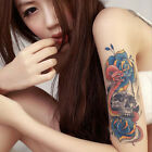 One Fashion Waterproof Temporary 3D Colorful Arm Body Art Fake Tattoo Sticker