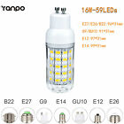 E26 E27 E12 E14 G9  GU10 5730 SMD LED Corn Bulb 9W 12W 18W 25W Light White Lamp