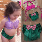 Adorable Baby Girls Kids Swimsuit Bathing Tankini Bikini Set Swimwear Beachwear
