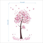 Beautiful Butterfly Flower Tree Wall Sticker Living Room Decor Mural Art Decal