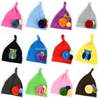 New Cute Soft Baby Infant Toddler girls boy Flowers Cotton Hat Cap 0-2Y B20E01